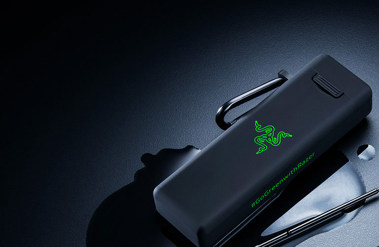 A reusable straw introduced by Razer