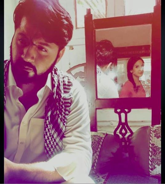Imran Ashraf shared a picture from the set of Raqs-e-Bismil